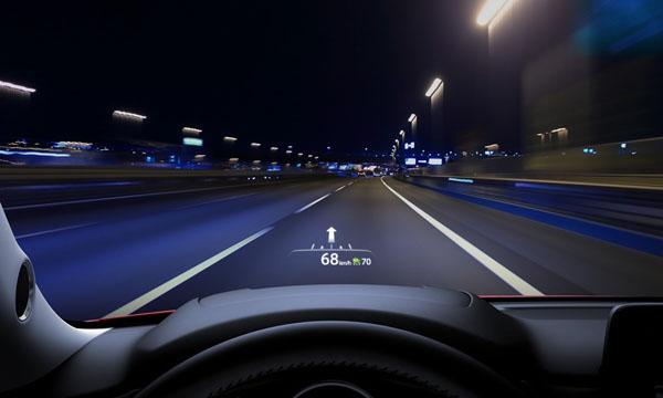 หน้าจอระบบปฏิบัติการ Active Driving Display