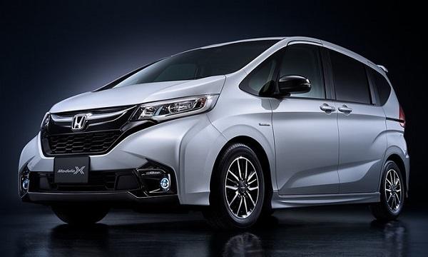 ความจัดจ้านในการออกแบบที่มากกว่าเดิมเพิ่มเติมคือเอกลักษณ์ที่สวยงามใน Honda Freed 2019