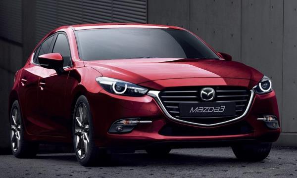 ดีไซน์ภายนอกของ Mazda 3