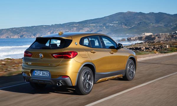 ด้านหลัง BMW X2 sDrive20i M Sport X 2019