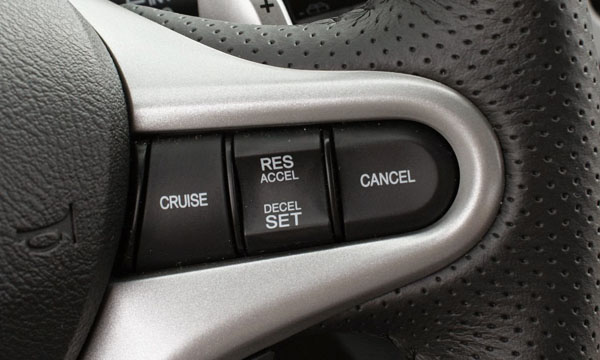 วิธีการใช้งานระบบ Cruise Control