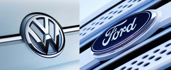 การพัฒนาความร่วมมือระหว่าง Ford และ Volkawagen