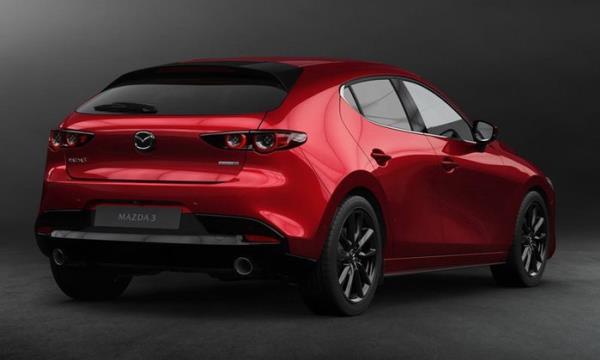 การตกแต่งภายนอกของ Mazda 3 2019