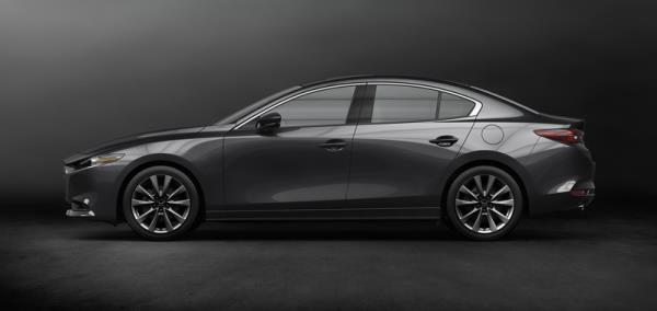 เส้นสายการออกแบบของ Mazda3 2019