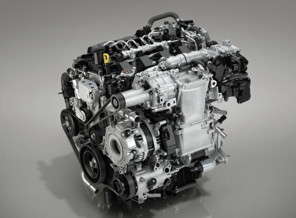 เครื่องยนต์ Mazda 3 2019