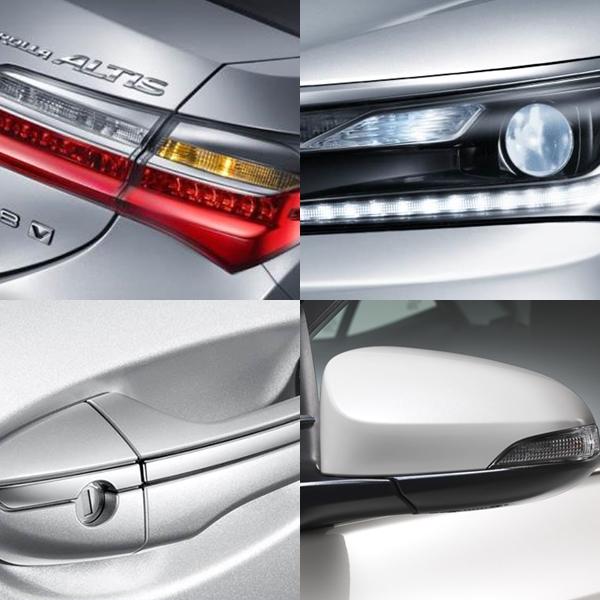 รายละเอียดการออกแบบส่วนต่างๆของตัวรถ