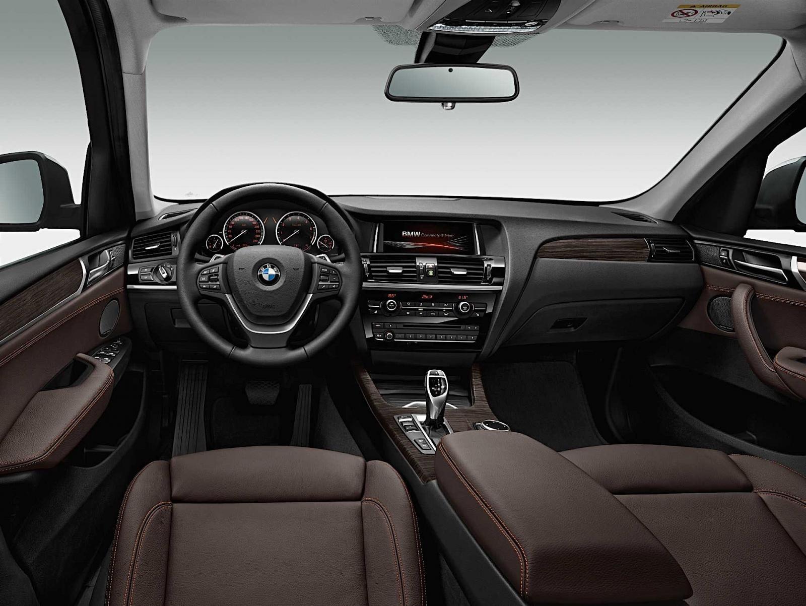 BMW X3 F25 interior