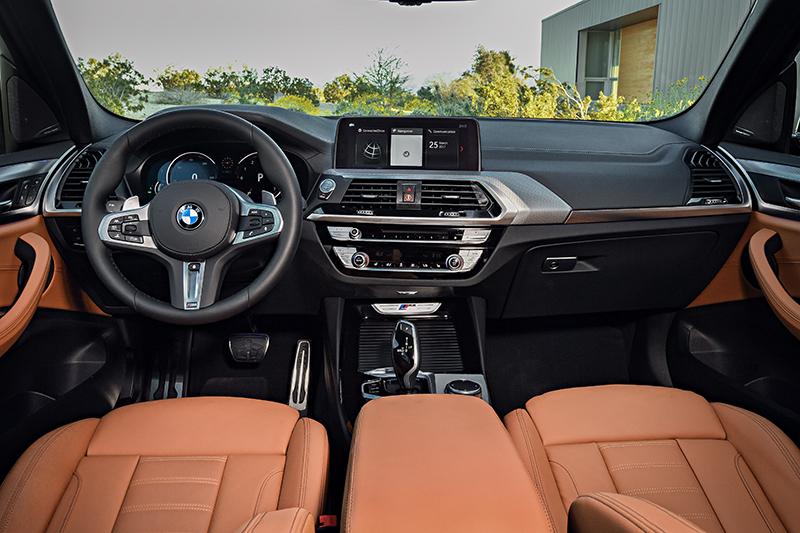 BMW X3 G01-interior