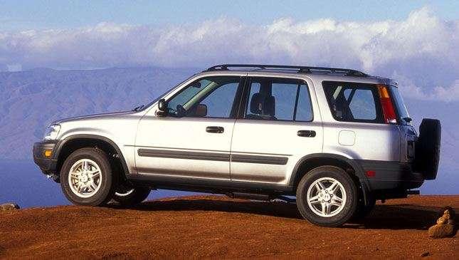 Honda CR-V เจเนอเรชั่นที่ 1 รุ่นปี 1995-2002 (ไมเนอร์เชนจ์)