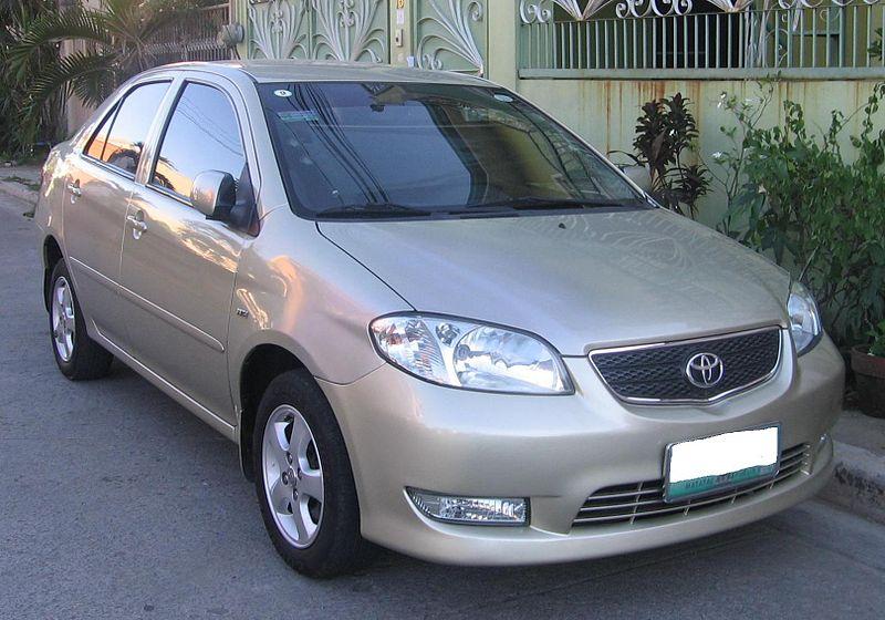 Toyota VIOS โฉมปี 2002-2007