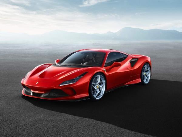 รถ Super Car  Ferrari F8 Tributo