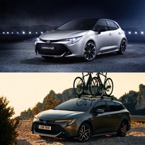 รถยนต์ Toyota Corolla GR Sport และ Toyota Corolla TREK  ที่จะเปิดตัวเร็วๆนี้