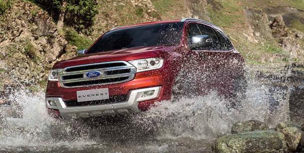 รถอเนกประสงค์มือสองน่าใช้ Ford Everest