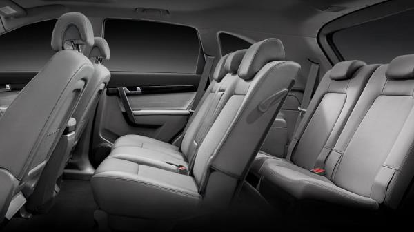 การออกแบบภานในห้องโดยสาร Chevrolet Captiva