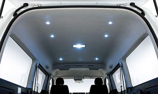ไฟภายในห้องโดยสารแบบ LED