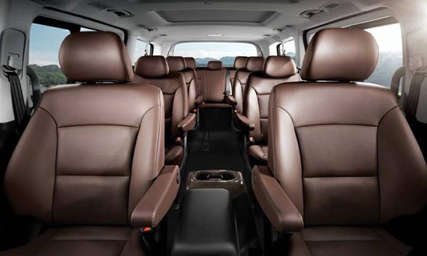 ภายใน Hyundai Grand Starex 2019