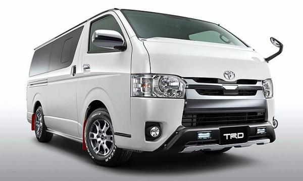 Toyota Hiace 2019 กับชุดแต่ง TRD