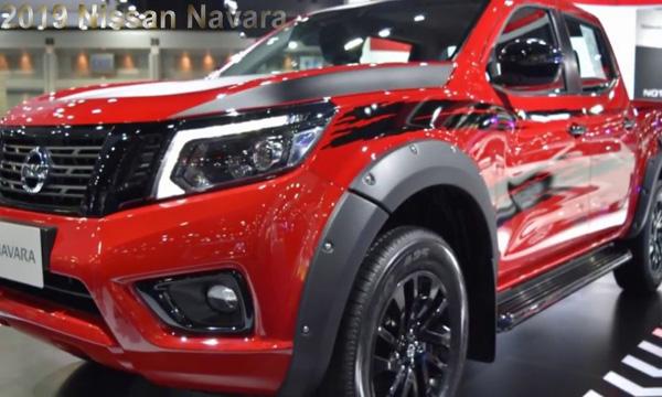 Nissan Navara 2019 มาพร้อมโคมไฟหน้าสุดโฉบเฉี่ยว