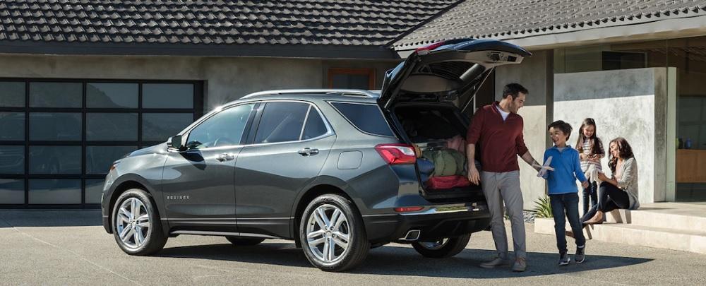 Chevrolet Equinox 2019 พร้อมมาคุณและครอบครัวออกเดินทางไปในทุกที่ สัมภาระมากแค่ไหวก็ไม่หวั่น