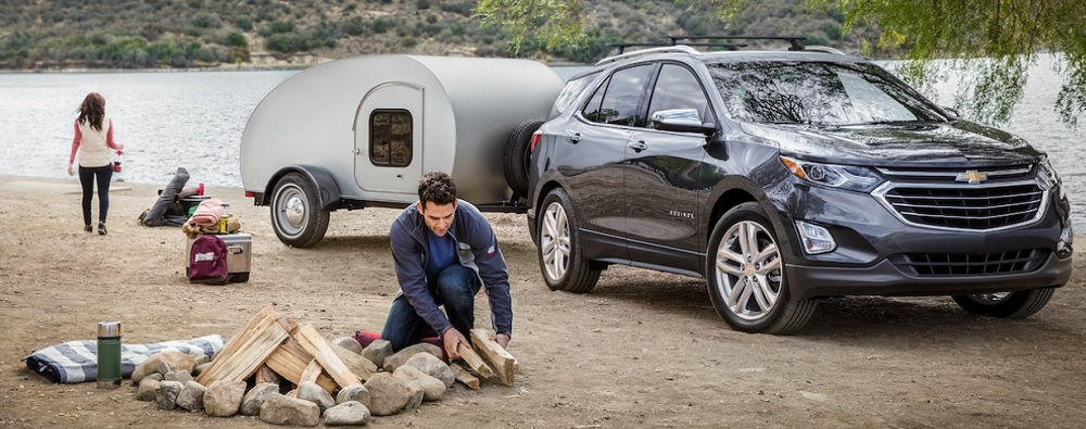 Chevrolet Equinox 2019 ถึงจะเป็นรถ SUV ขนาดเล็กแต่ก็สามารถต่อพวงลากจูงได้เช่นกัน