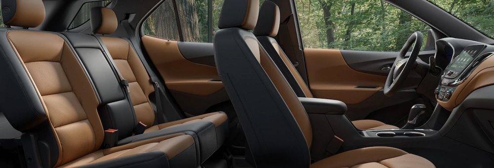ภายในห้องโดยสาร Chevrolet Equinox 2019 กว้างขวางนั่งสบายทุกที่นั่ง สวยหรู สไตล์ปอร์ต