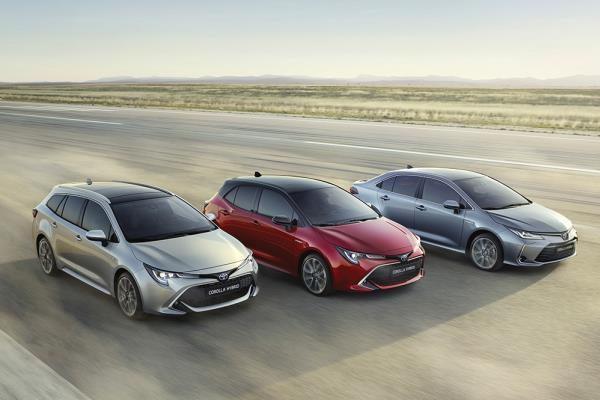 All New Toyota Corolla Altis 2019 ทั้งหมด 3 ตัวถัง