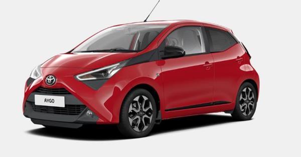 ตัวอย่างสีรถของ Toyota Aygo X-Trend 2019