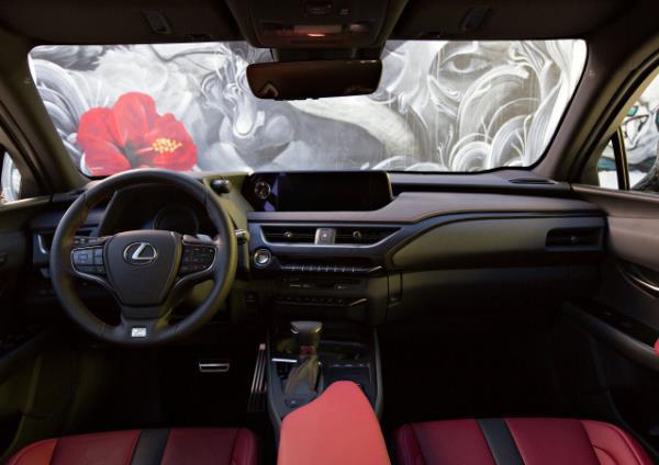 การออกแบบภายในของตัวรถ