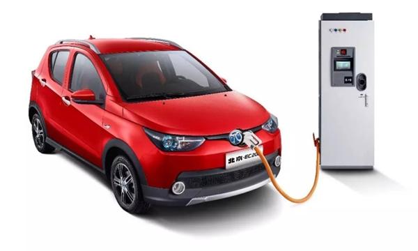 BAIC EC ครอสโอเวอร์ขับเคลื่อนด้วยพลังงานไฟฟ้า