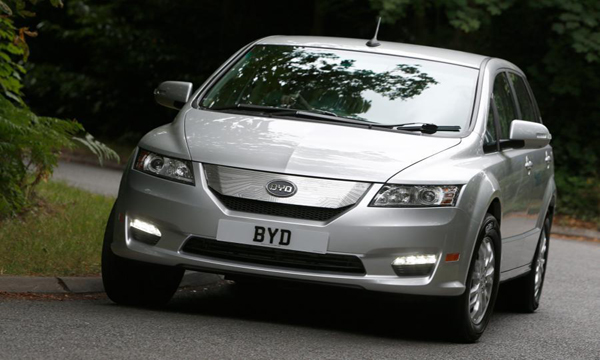 BYD E6 2019