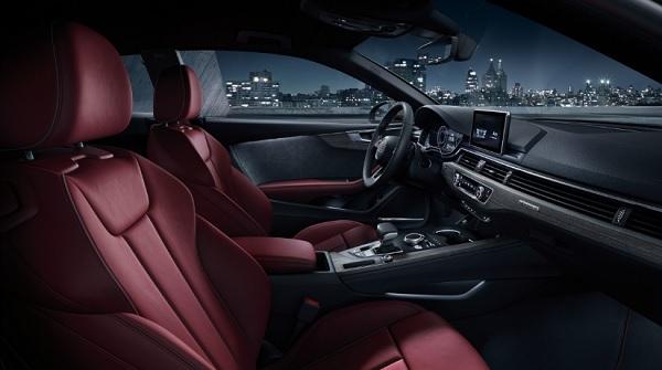 ภายในห้องโดยสาร Audi A5 Coupe (2019)