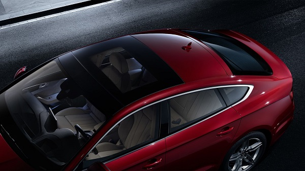 ภายในห้องโดยสาร Audi A5 Sportback  (2019)