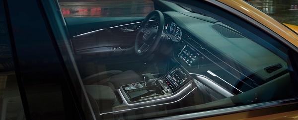 Audi Q8 (2019) มาพร้อมกับอุปกรณณ์และสิ่งอำนวยความสะดวกที่ทันสมัย