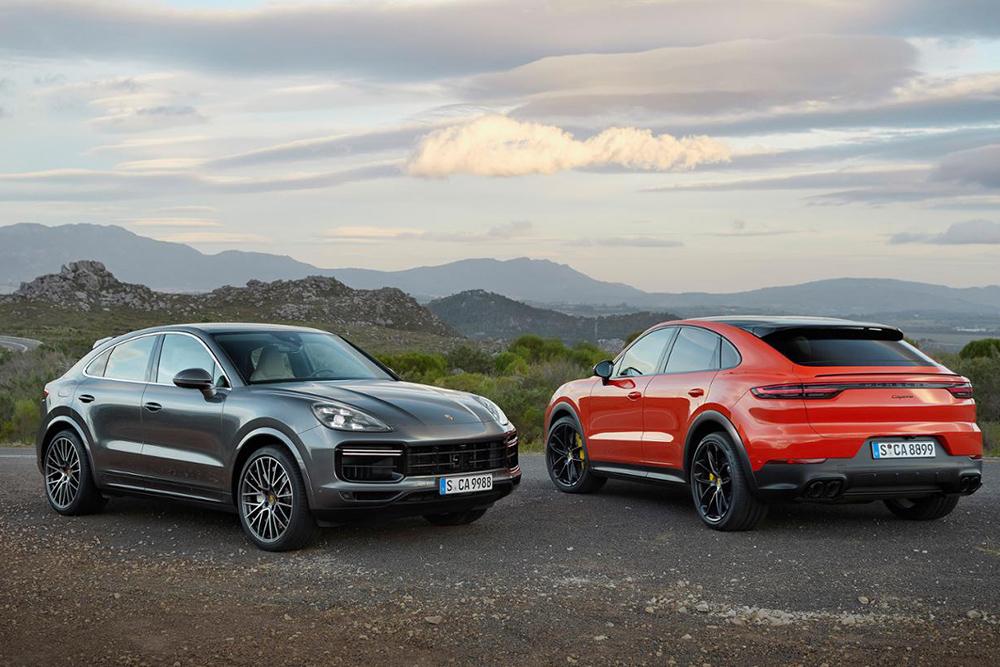All-new Porsche Cayenne Coupe 2019 สปอร์ตต่อด้วยตัวถังแบบรถยนต์ไสตล์ Coupe