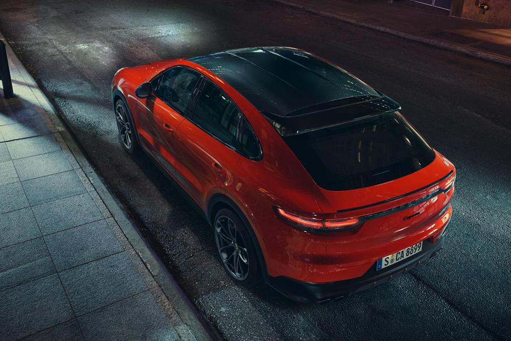 Porsche Cayenne Coupe 2019  ที่ดูคล้าย Porsche 911 ด้วนไสตล์การดีไซน์