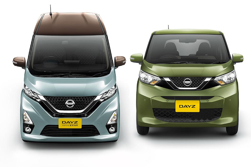 เทียบให้เห็นระหว่าง Nissan  Dayz Highway STAR และ Nissan Dayz รุ่นปกติ