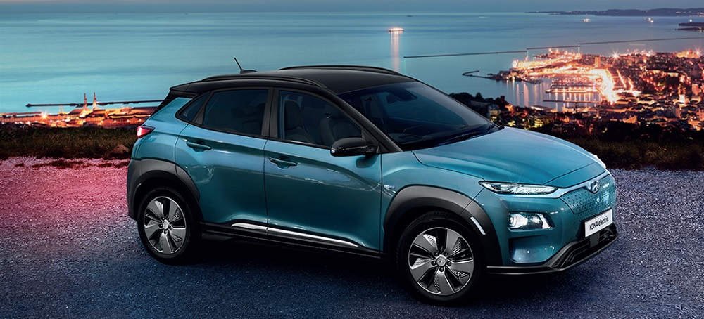Hyundai Kona Electric เป็นรถยนต์ครอสโอเวอร์ขับเคลื่อนด้วยพลังงานไฟฟ้า ราคาเริ่มต้นที่ 1,849,000 บาท