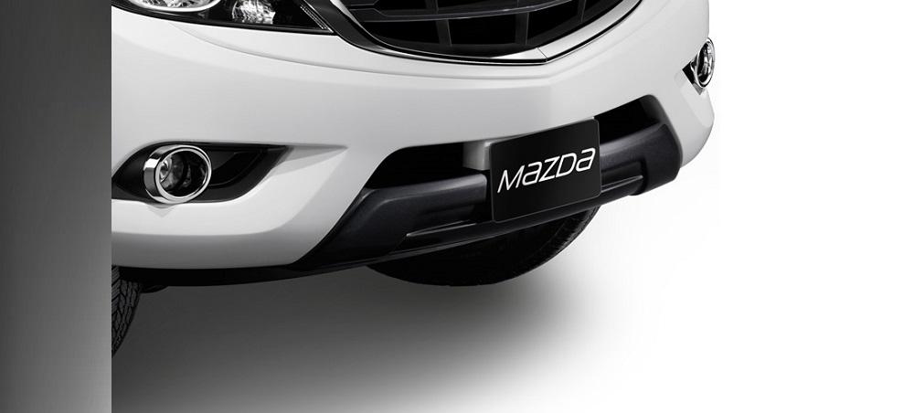 ชุดแต่ง Mazda BT-50 PRO เสริมกันชนหน้า (สีเทา นิวทรัล เกรย์) หมายเลขอะไหล่ : UC2MT4902 ราคา 4,822 บาท (ไม่รวม VAT)