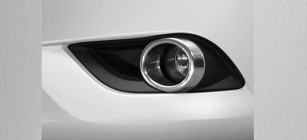 ชุดแต่ง Mazda BT-50 PRO กรอบไฟตัดหมอกโครเมี่ยม หมายเลขอะไหล่ : UC2MT4240 ราคา 675 บาท (ไม่รวม VAT)