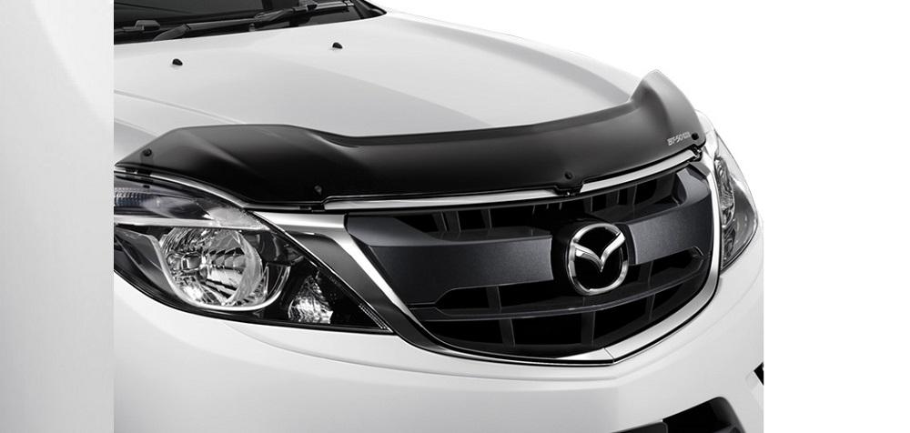 ชุดแต่ง Mazda BT-50 PRO แผงกันแมลงฝากระโปรงหน้า หมายเลขอะไหล่ : UC2WV4330 ราคา 1,950 บาท (ไม่รวม VAT)