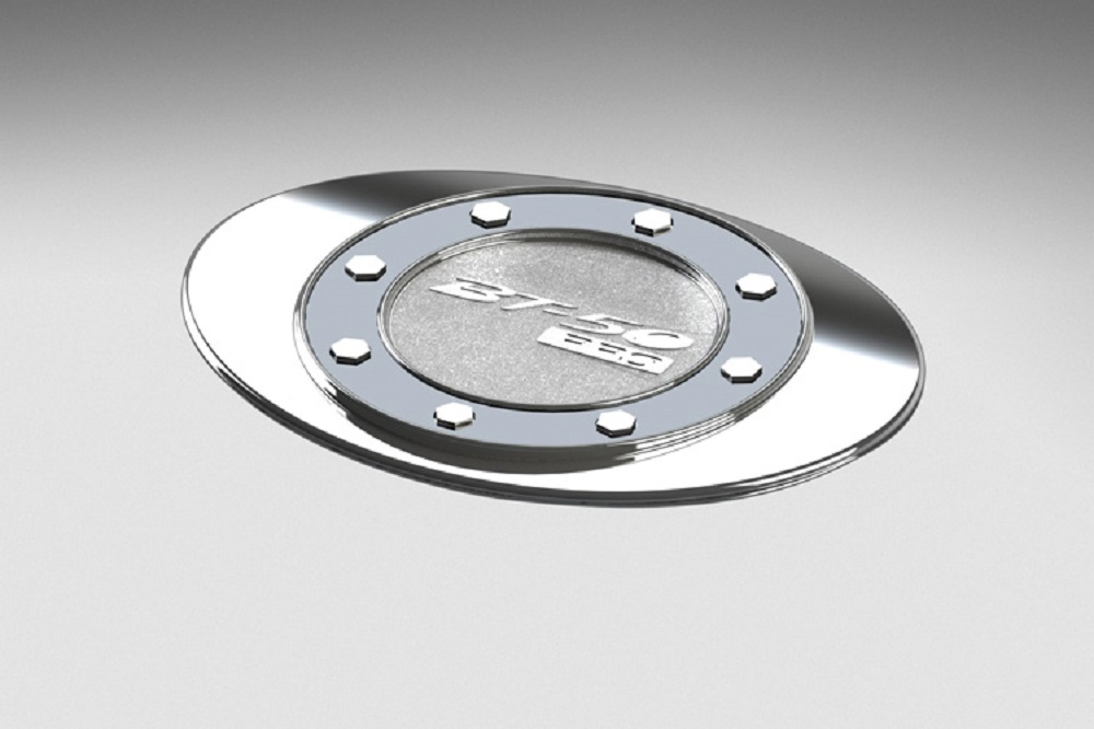 ชุดแต่ง Mazda BT-50 PRO ฝาถังน้ำมันโครเมี่ยม หมายเลขอะไหล่ : UC2RT4410 ราคา 640 บาท  (ไม่รวม VAT)