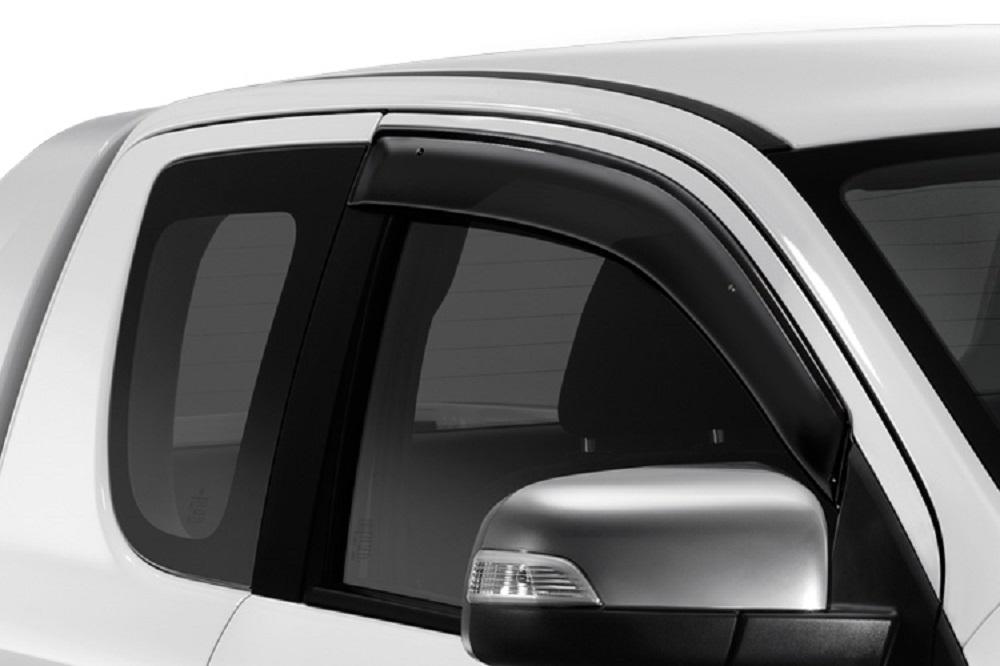 ชุดแต่ง Mazda BT-50 PRO ชุดคิ้วกันสาด (ฟรีสไตล์แค็บ) หมายเลขอะไหล่ : UC2R V3 700 ราคา 1,225 บาท (ไม่รวม VAT)