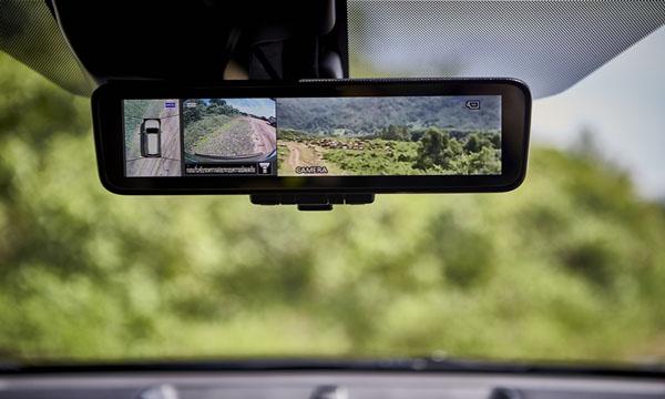 กล้องมองหลังสามารถแสดงภาพได้รอบทิศทาง