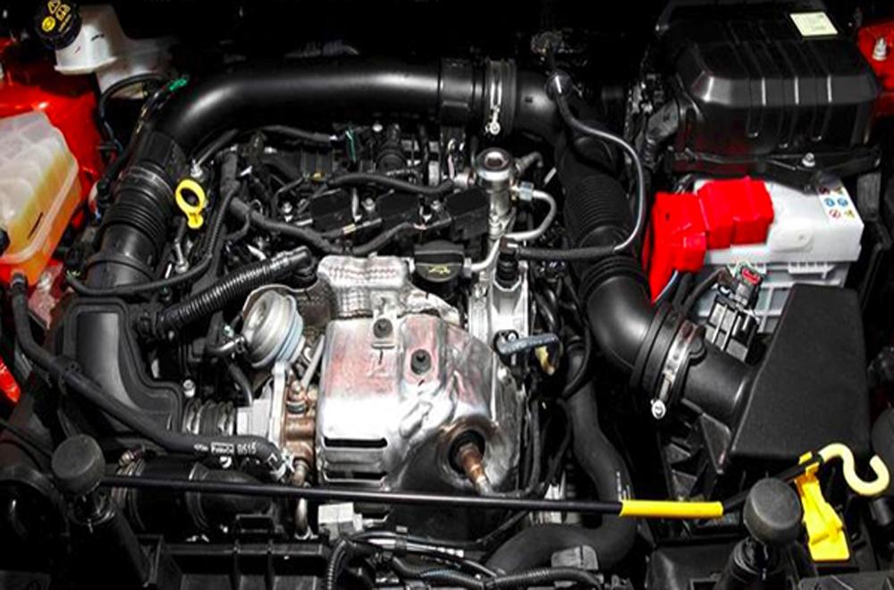Ford Ecosport ติดตั้งเครื่องยนต์ DOHC 4 สูบ 16 วาล์ว Duratec ขนาด 1.5 ลิตร พร้อมระบบแปรผันแคมชาร์ฟแบบอิสระคู่ Ti-VCT ให้กำลังสูงสุด 110 แรงม้า ที่ 6,300 รอบ/นาที แรงบิดสูงสุด 142 นิวตัน-เมตร ที่ 4,400 รอบ/นาที