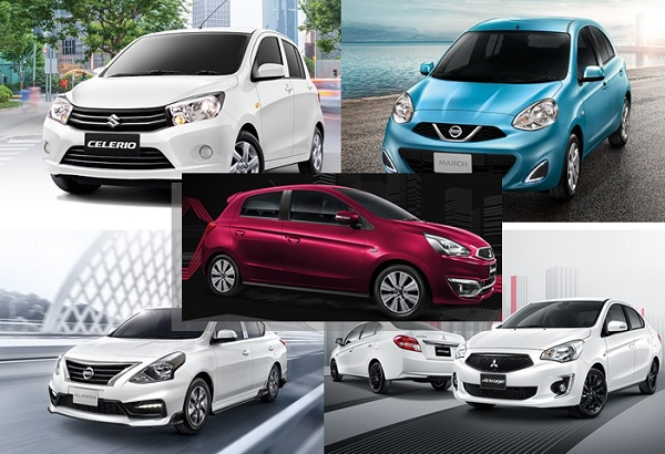 แนะนำ 5 อันดับรถยนต์ที่ราคาถูกและคุ้มค่าคุ้มราคาน่าจับจองในปี 2019