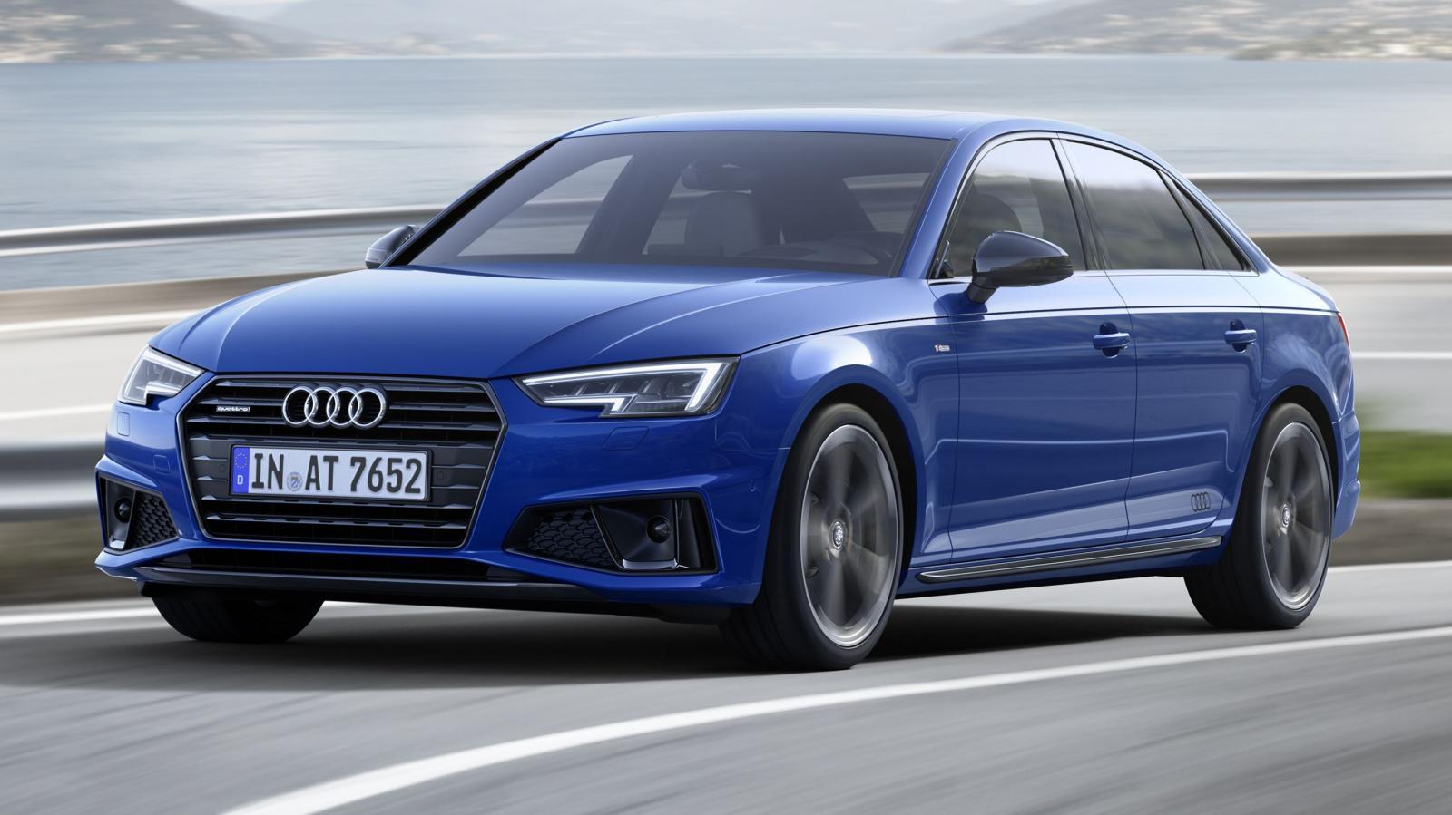Audi A4 -B9-facelift