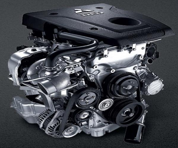 เครื่องยนต์ดีเซล Mivec VG Turbo DOHC 16 วาว์ล ขนาด 2.5 ลิตร