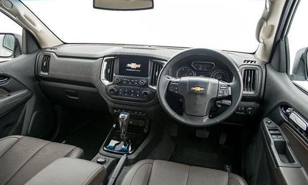 ภายใน Chevrolet Trailblazer 2019