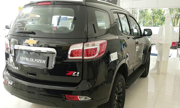 ด้านหลัง Chevrolet Trailblazer 2019