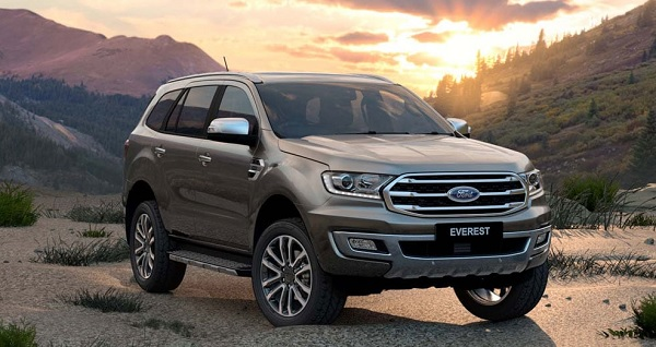 ออกรถ New Ford Everest  วันนี้ พร้อมรับข้อเสนอพิเศษ อัตราดอกเบี้ย 0% และข้อเสนอดีๆ อีกมากมาย